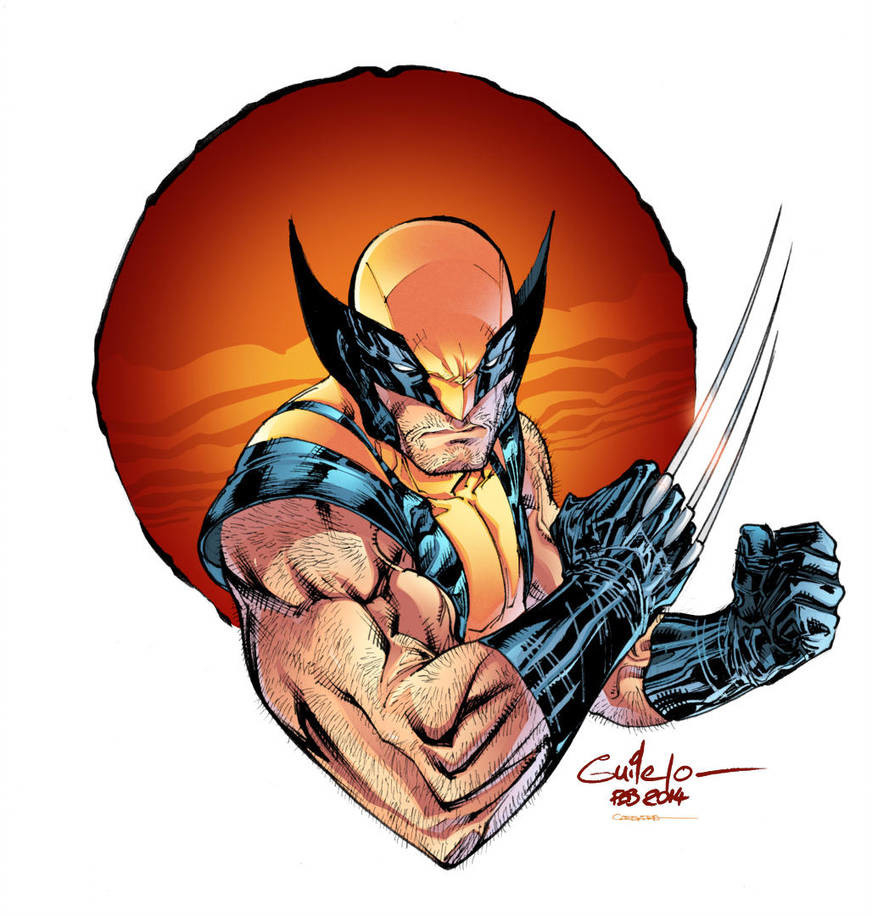 WOLVERINE Pin-up