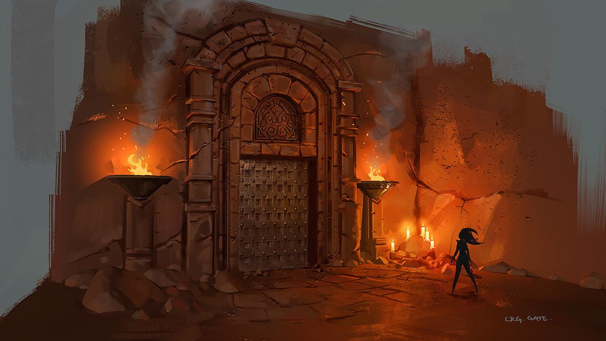 Daryl mandryk gate large study