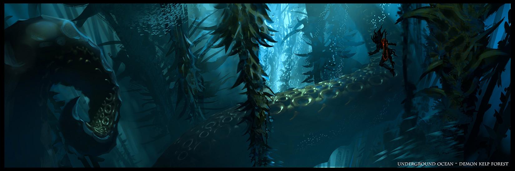 Daryl mandryk kelp forest