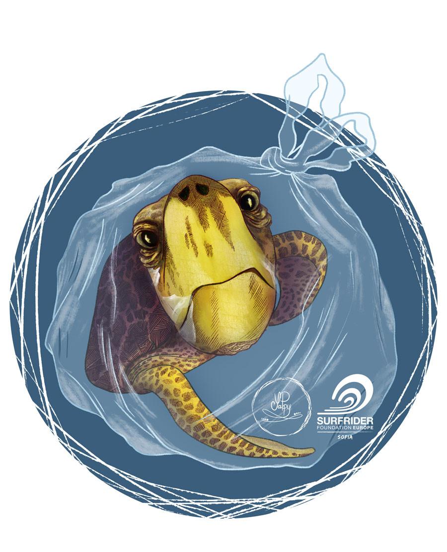 Yana popova yappy tote 2018 turtle web
