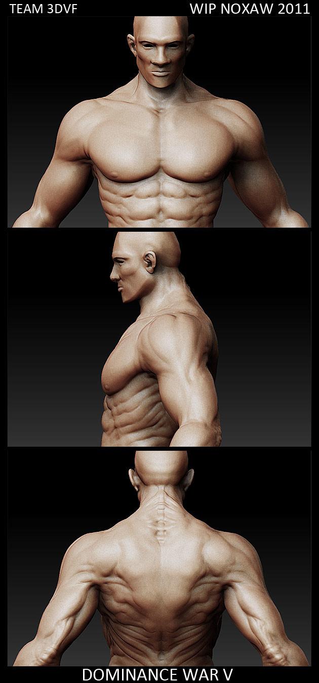 character Zbrush sculpt