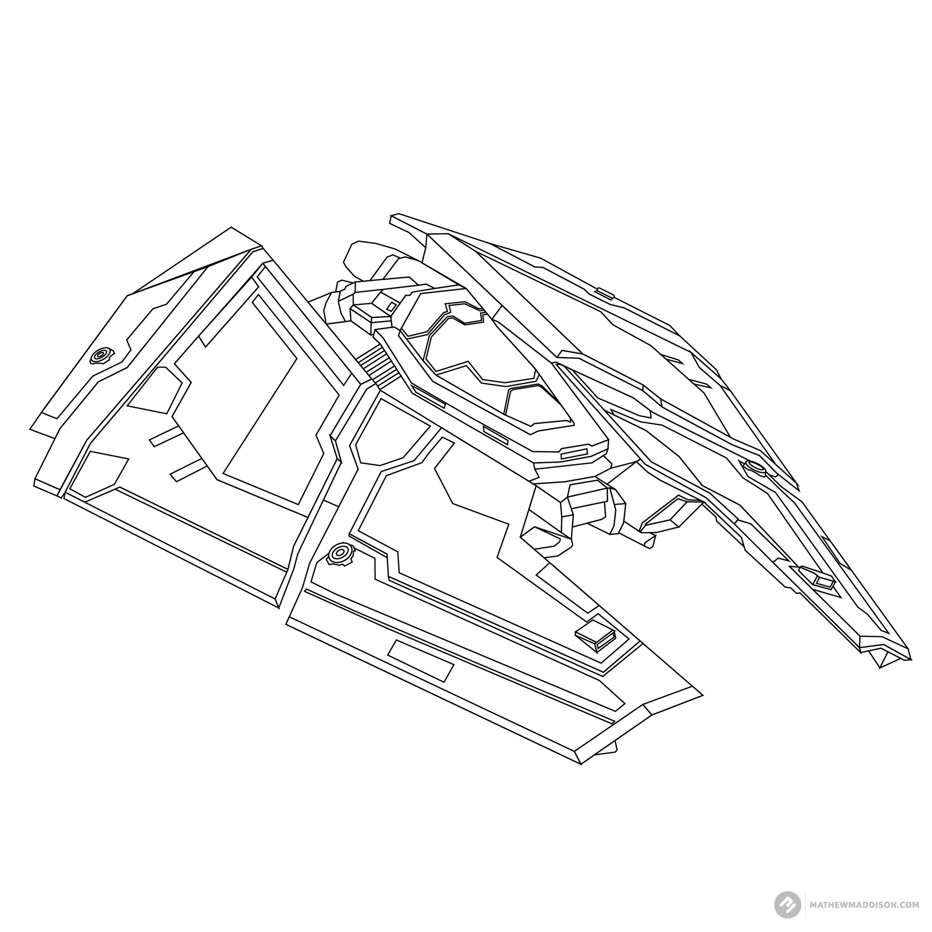 Mathew maddison elite ship no colours by mathew maddsion 01