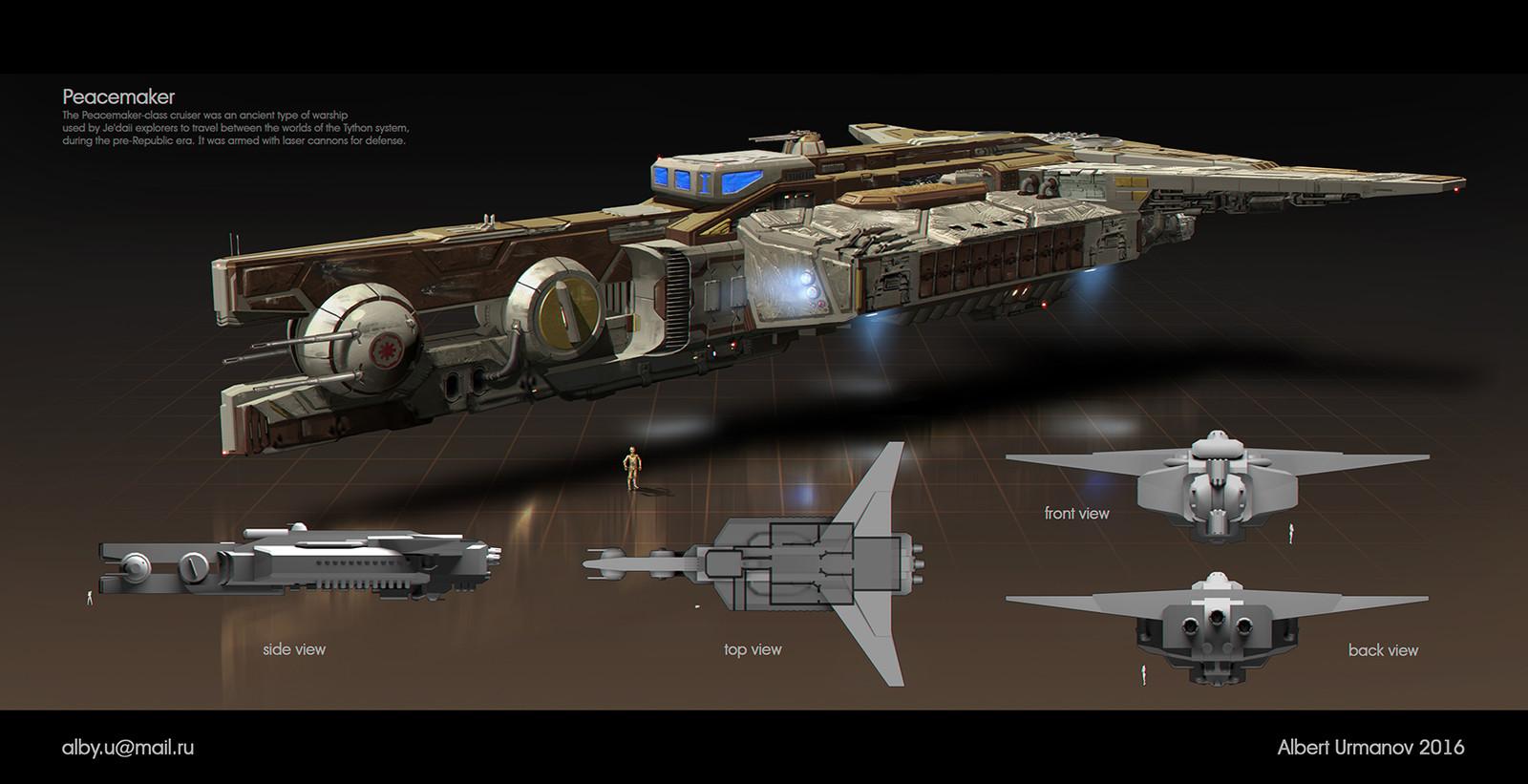 Lanoree's ship