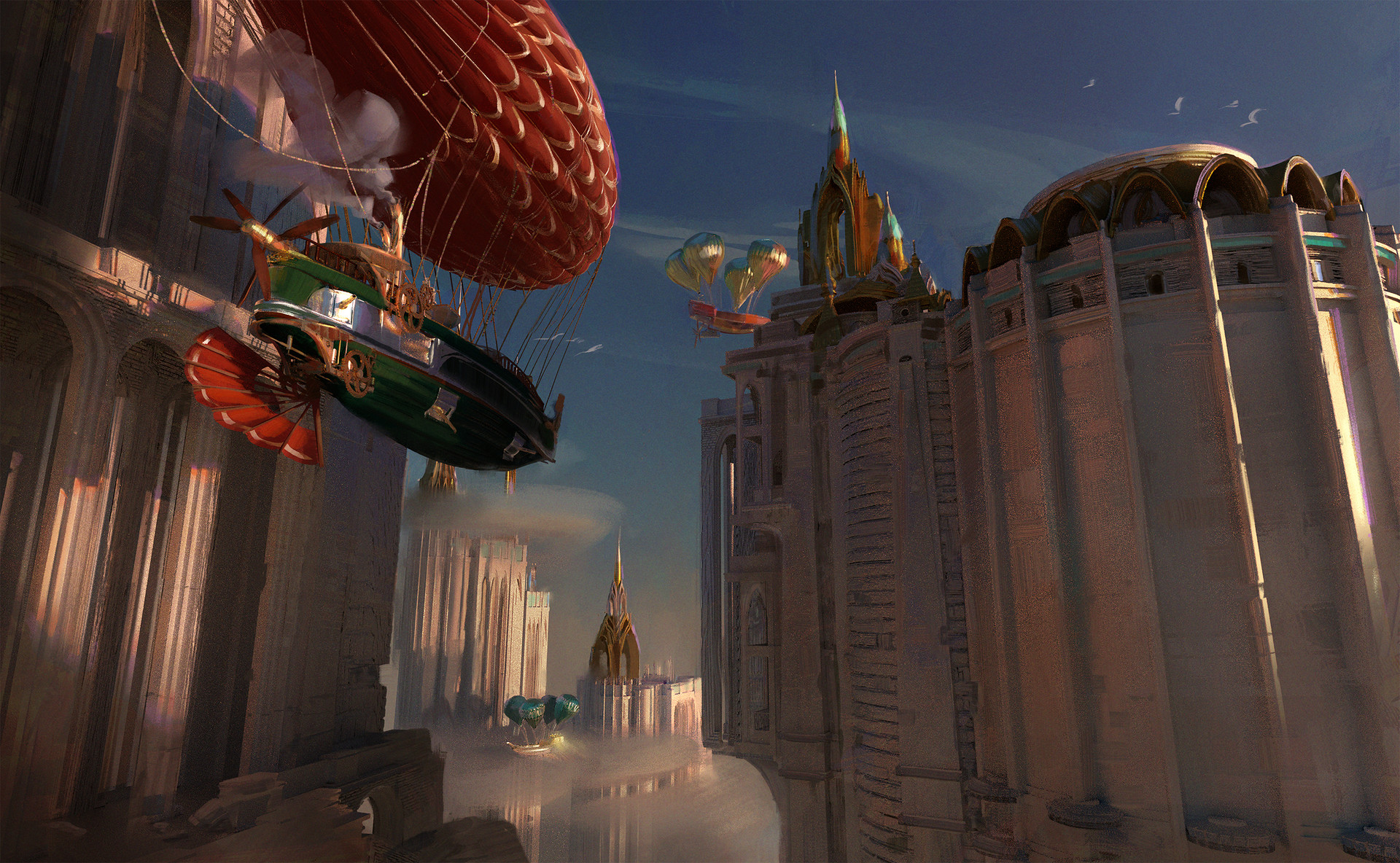 jan sarbort airships