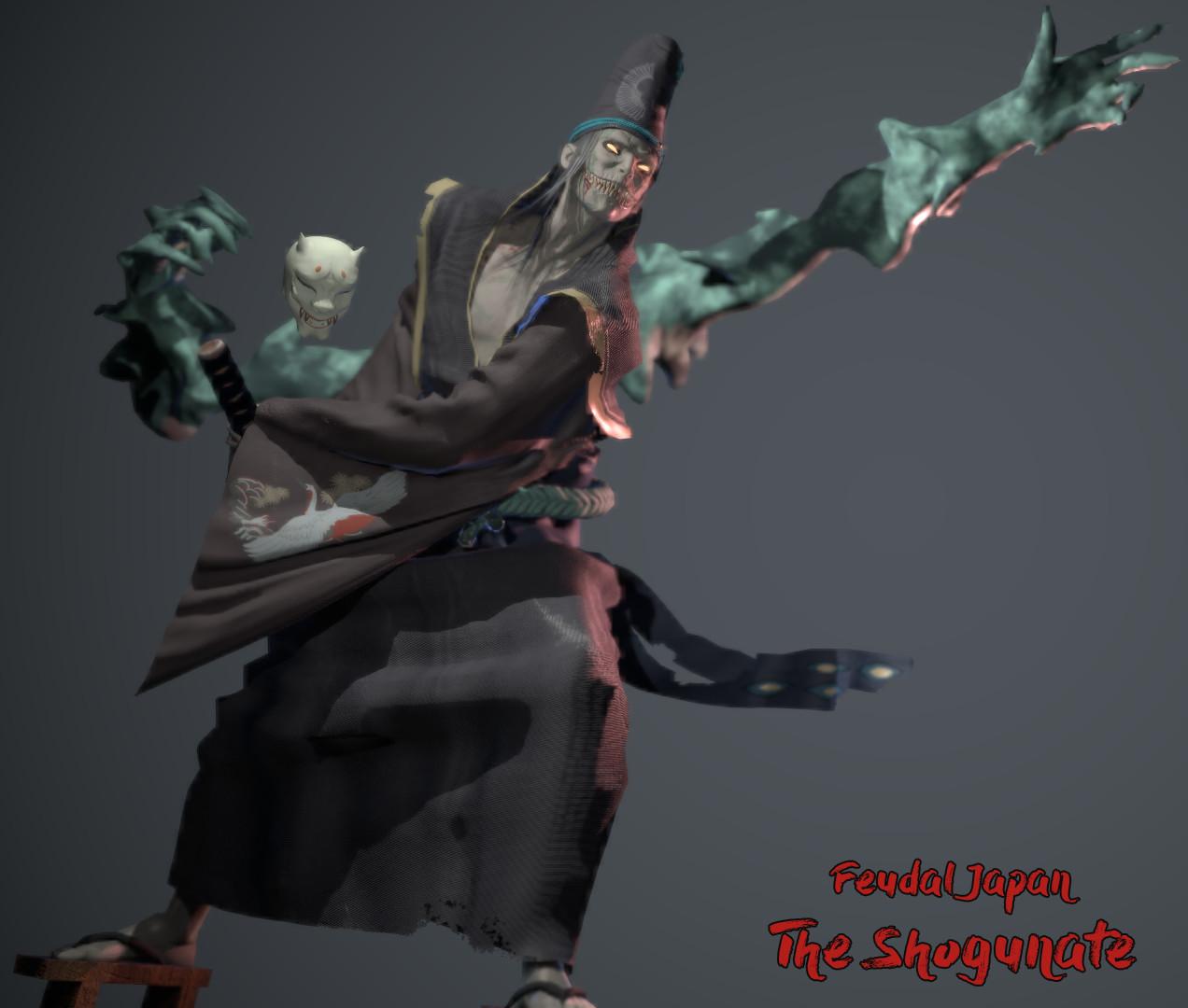 ArtStation Challenge - Feudal Japan: The Shogunate