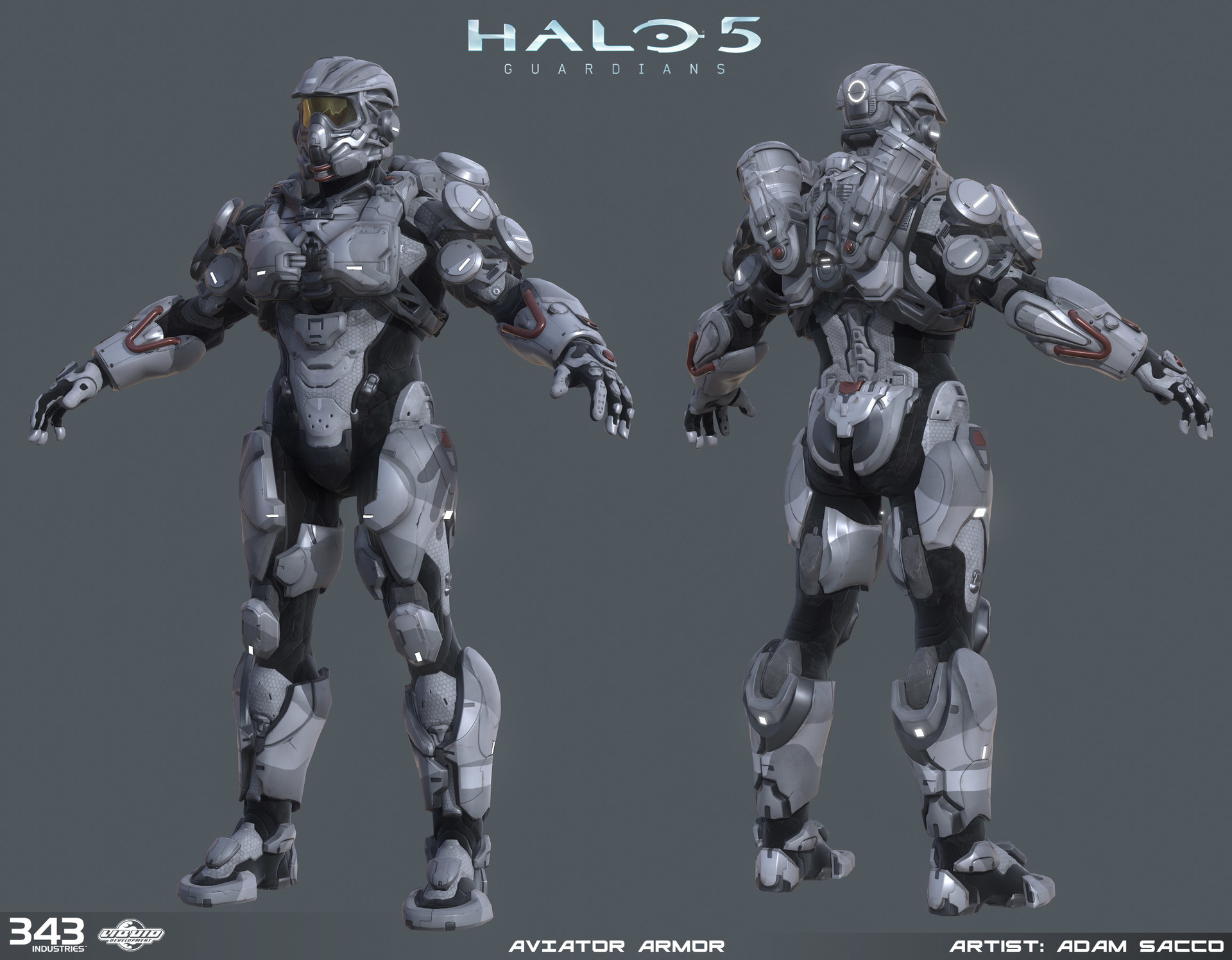Adam sacco adam sacco halo5 aviator armor2