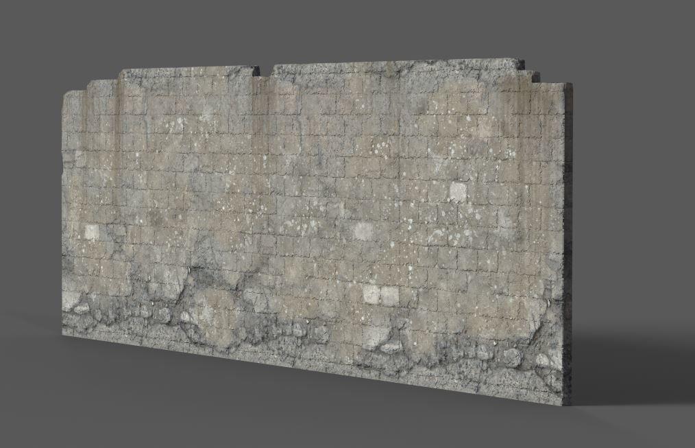 Terry hess cinderblock wall substance 01