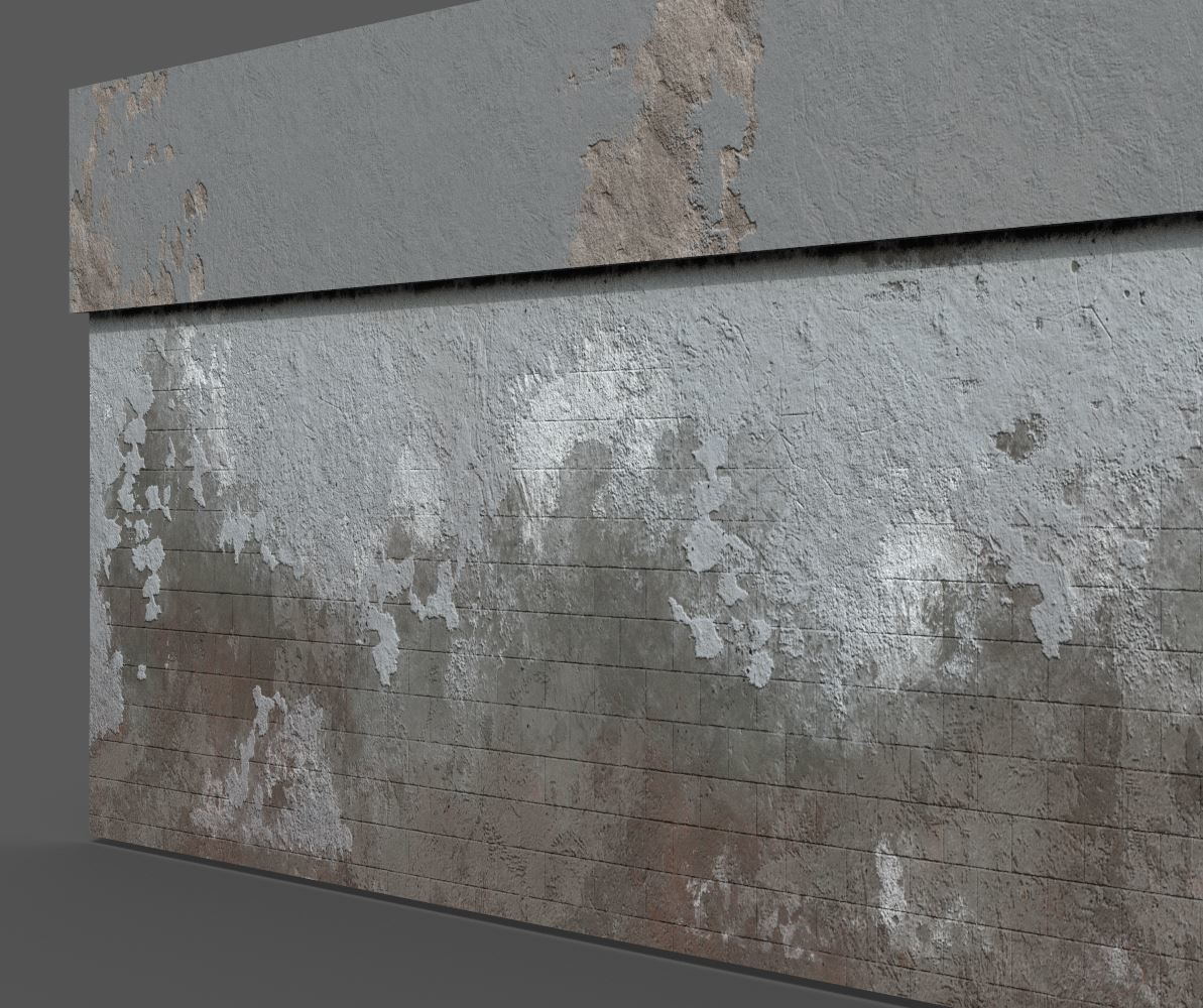 Terry hess laundrromat plaster backwall