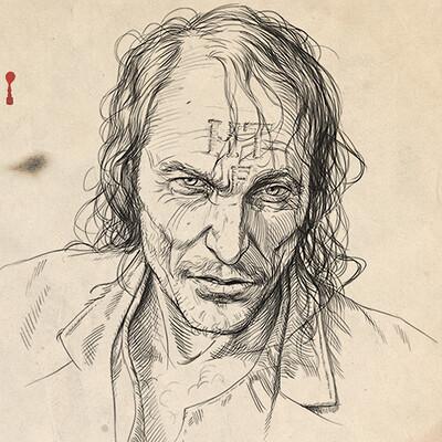 Jarrod owen blood meridian portraits