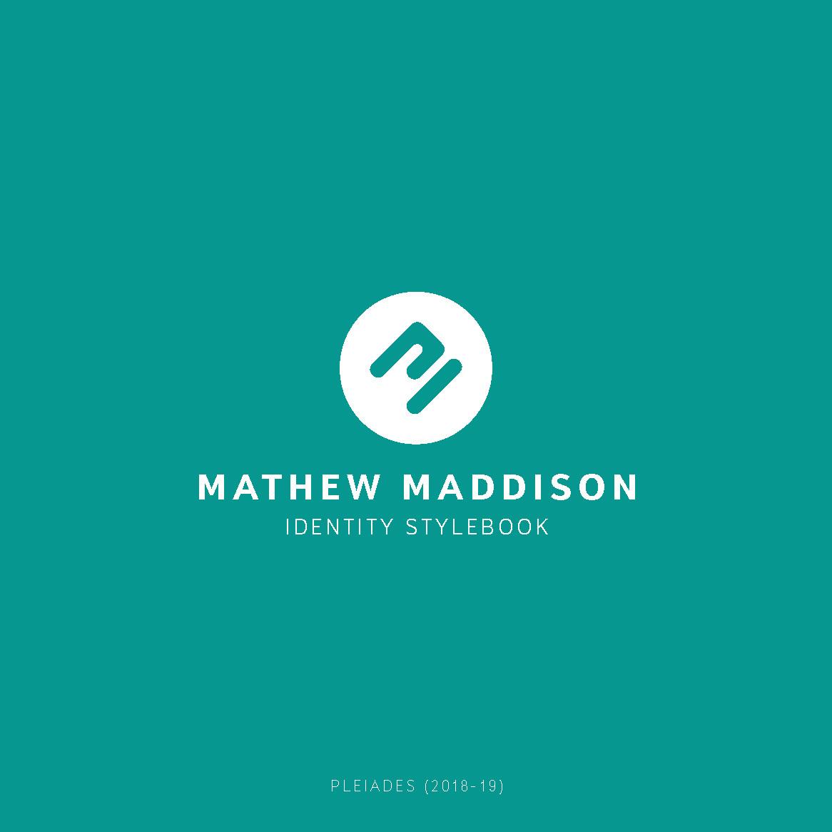 Mathew maddison mathew maddison identity guidelines page 1
