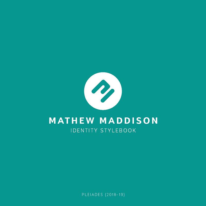 "Mathew Maddison - Branding 2018-19 ""Pleiades"""