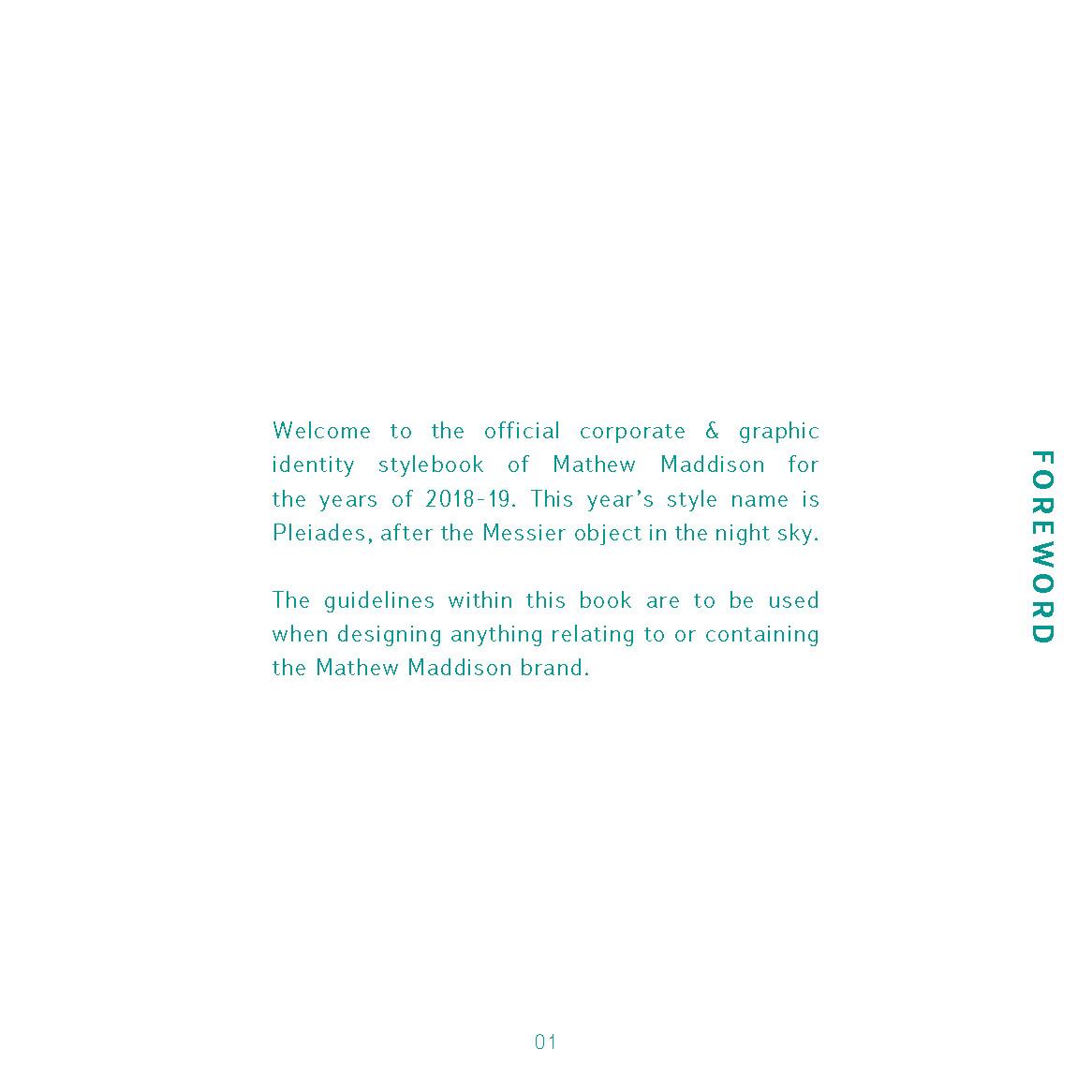 Mathew maddison mathew maddison identity guidelines page 3