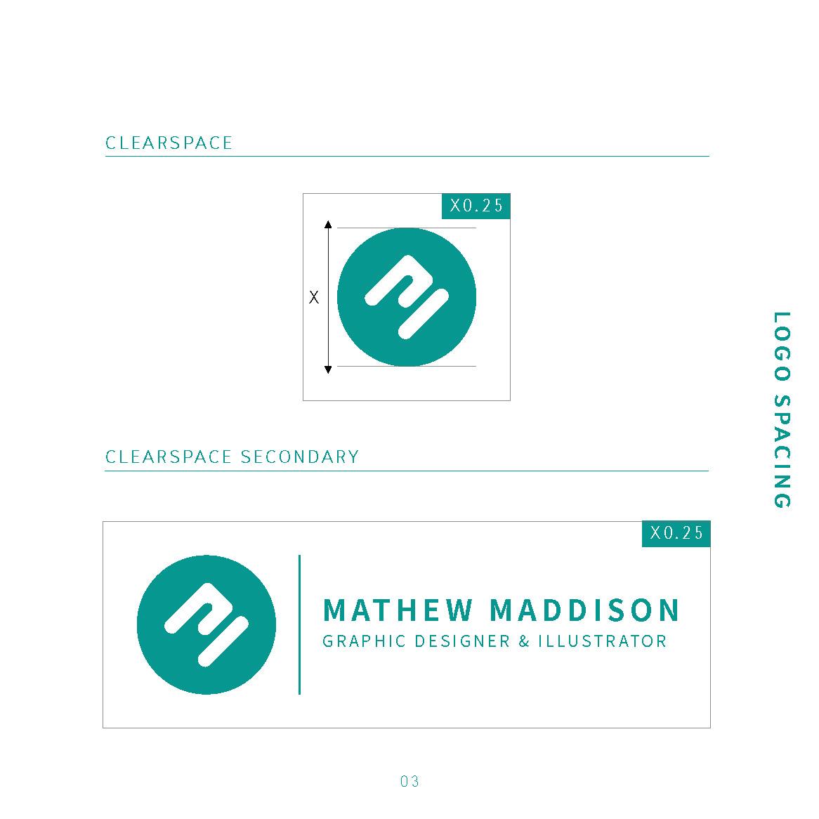 Mathew maddison mathew maddison identity guidelines page 5