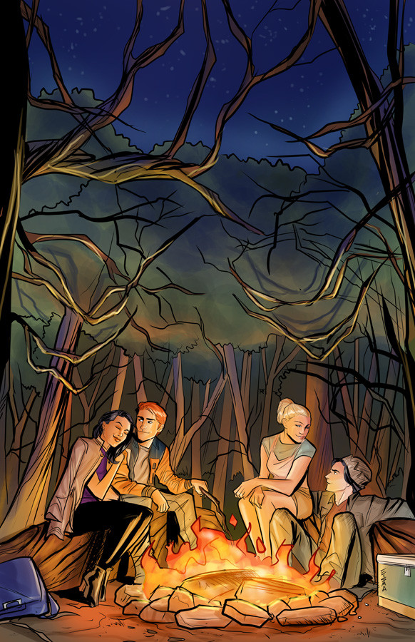 Riverdale Season 3 first issue cover