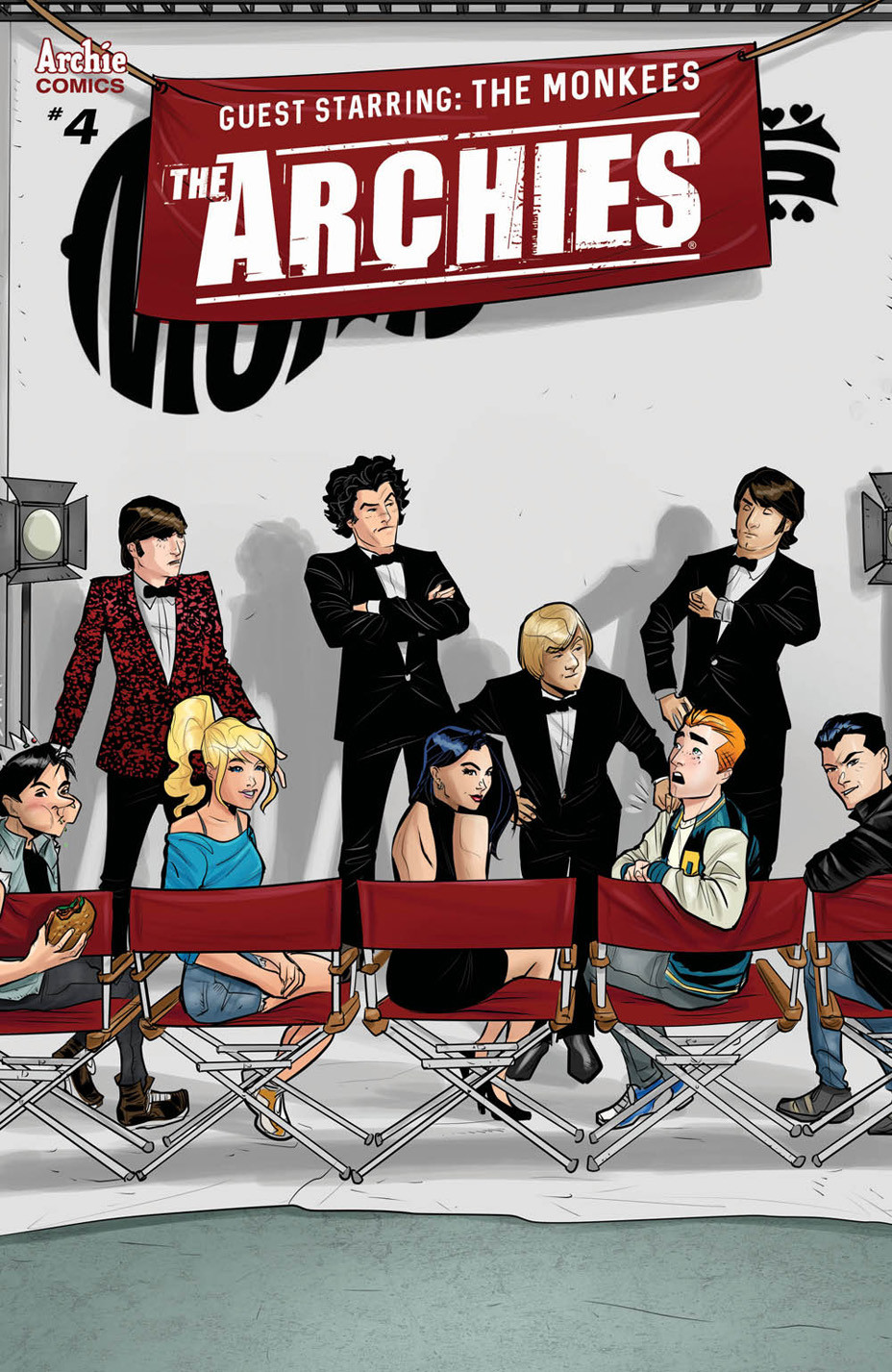 The Archies #4 cover