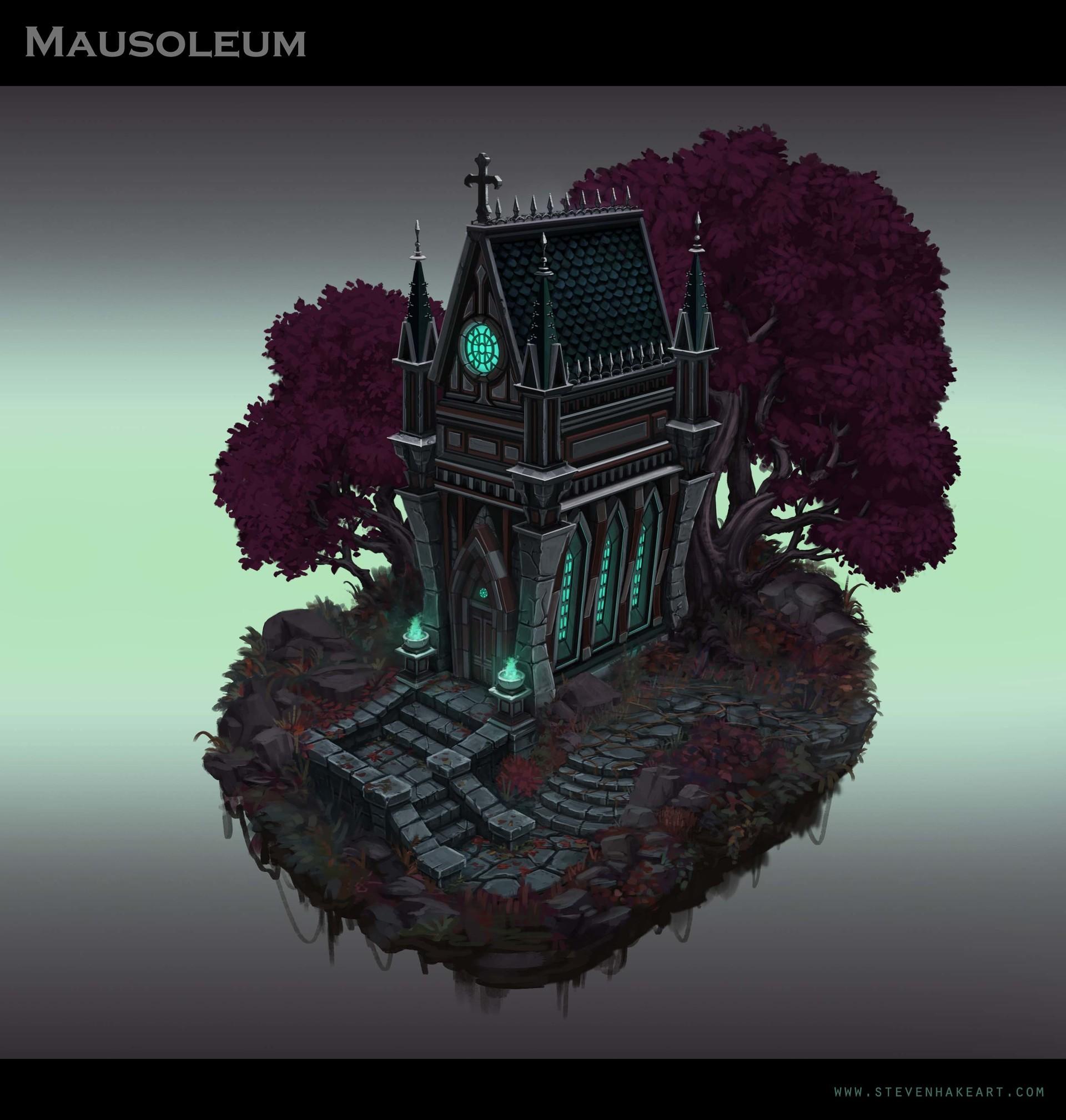 Steven hake mausoleum