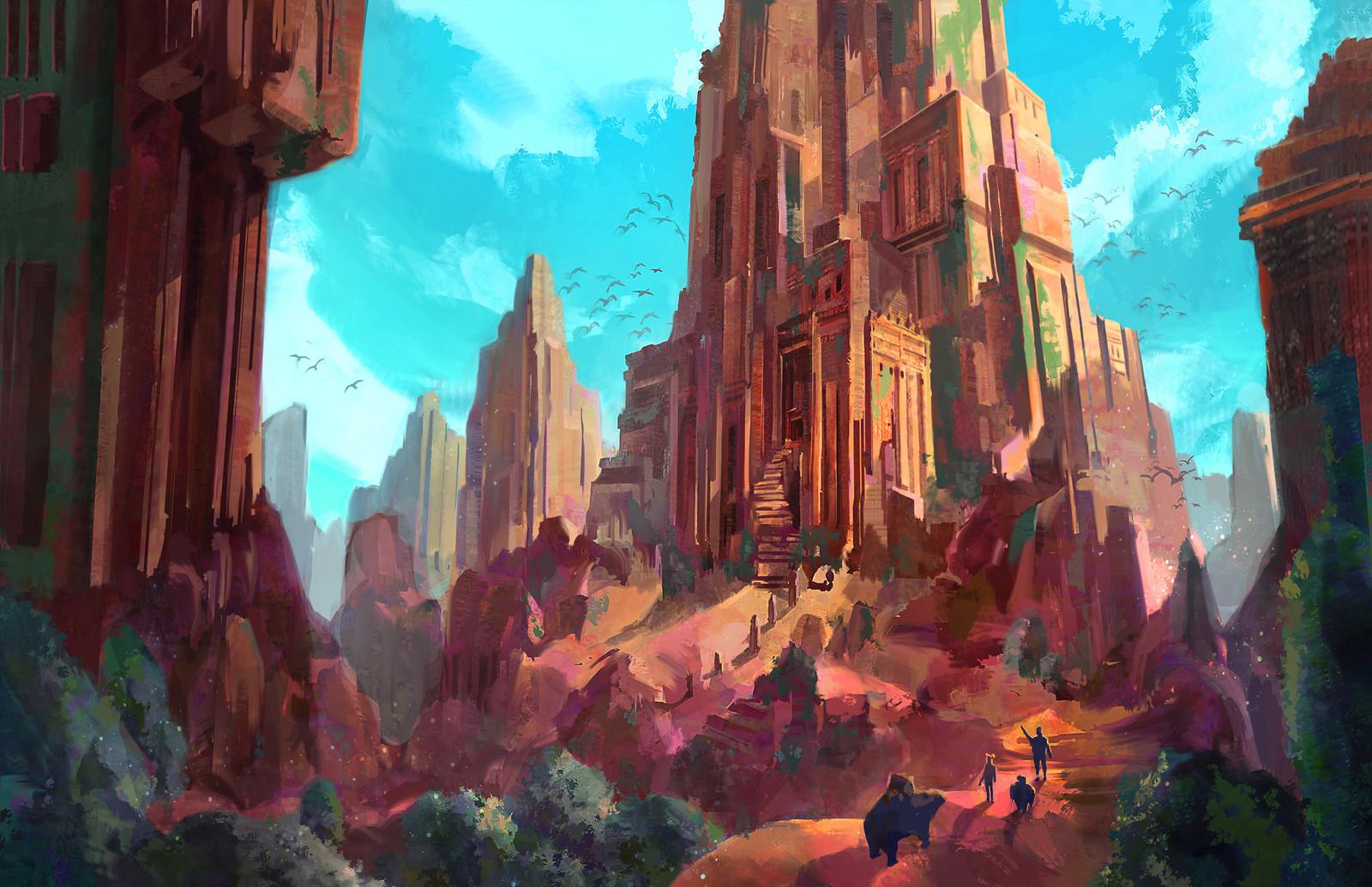 Ruin Towers