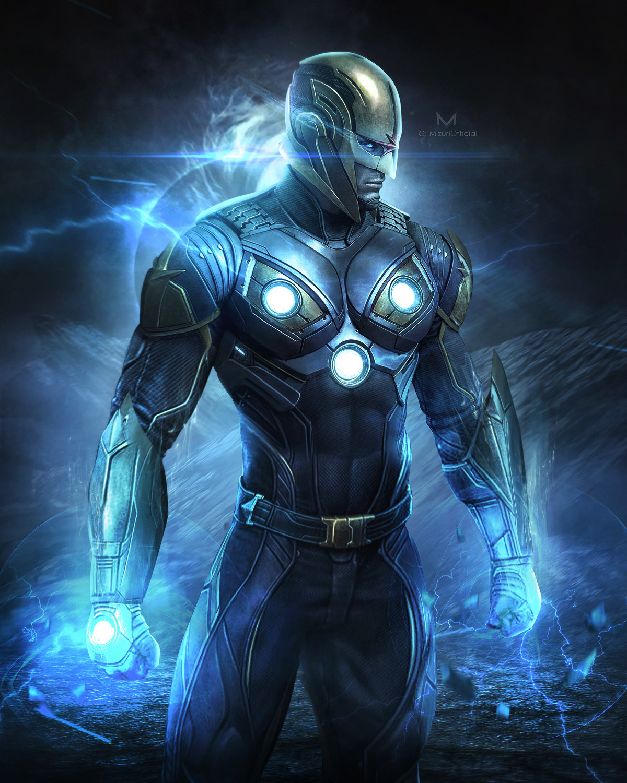 Artstation Guardians Of The Galaxy 3 Nova Mizuri Au