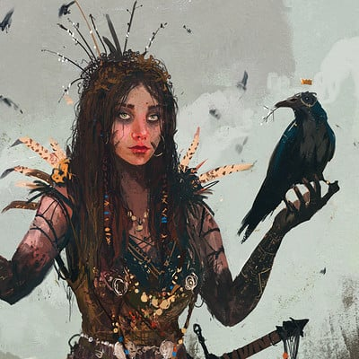 Ismail inceoglu queen of crows