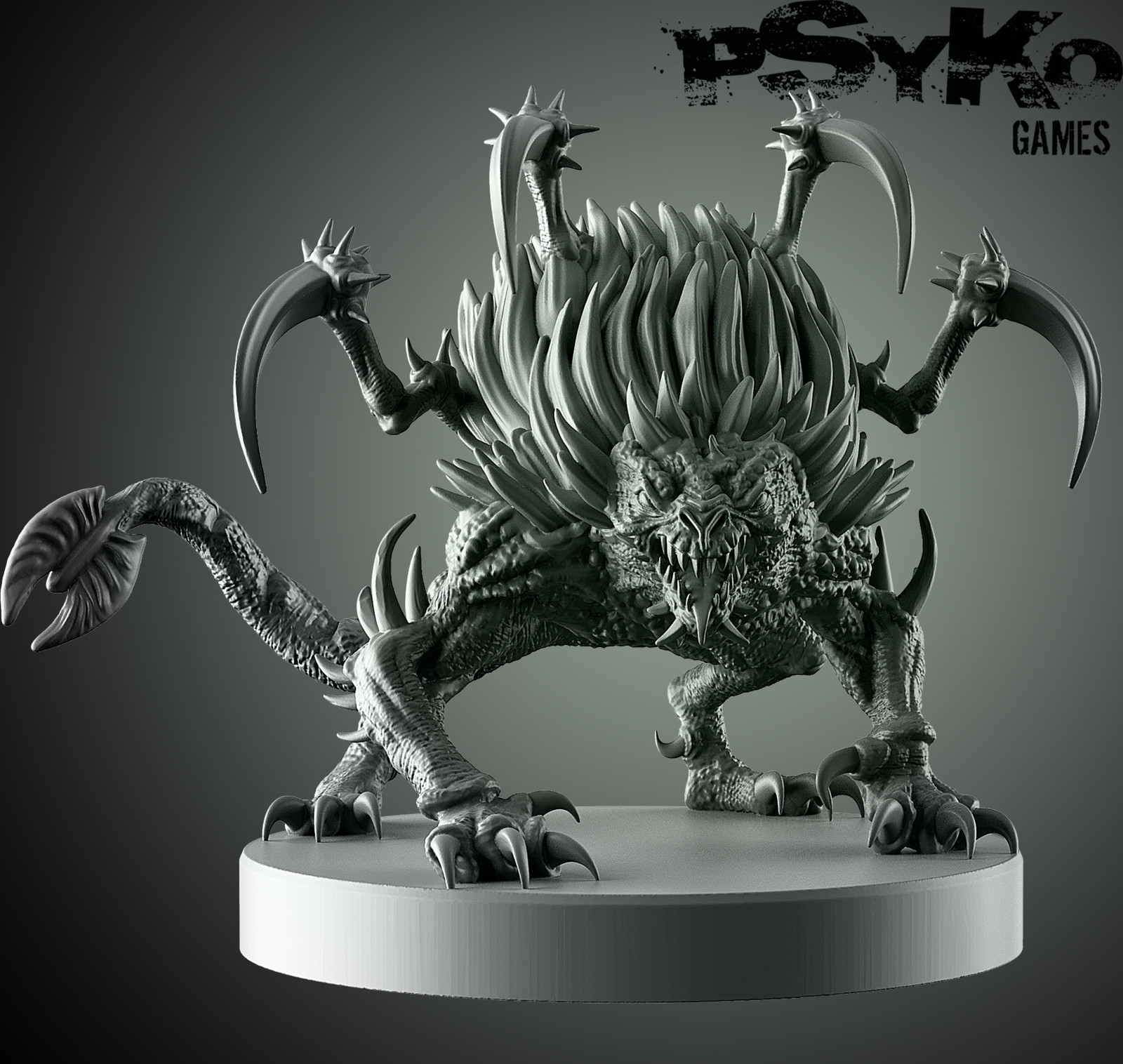 Shattered Chaos boardgame miniatures - Spike