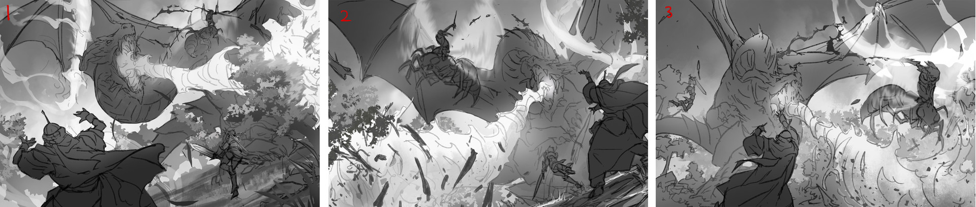 Lie setiawan dragonbattle roughs