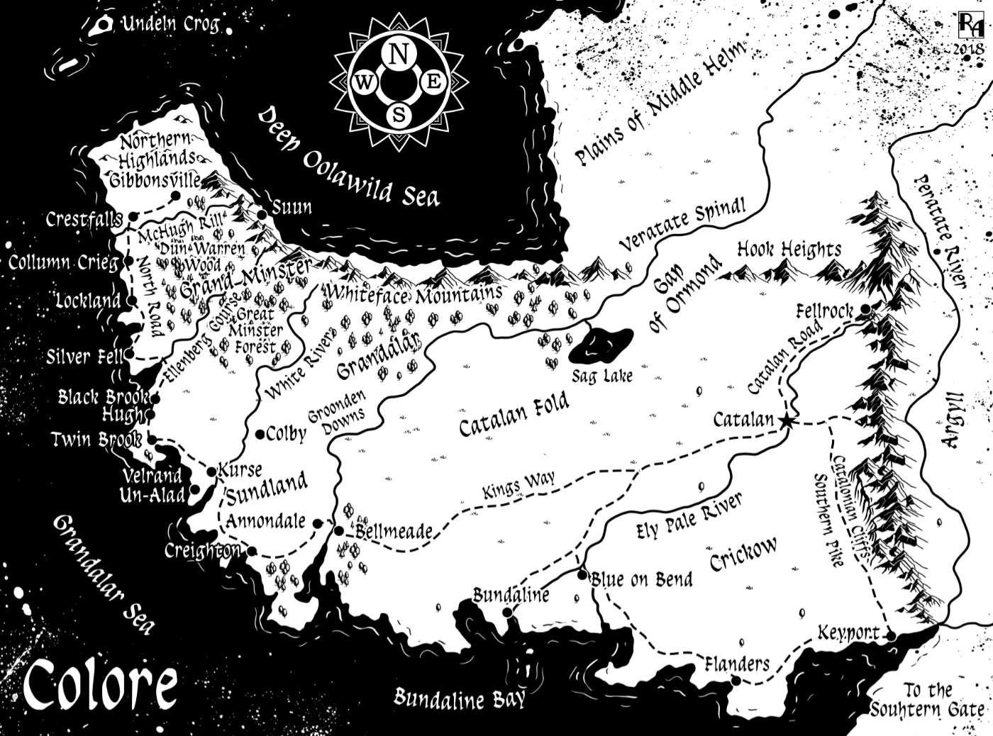 Robert altbauer colore fantasy map