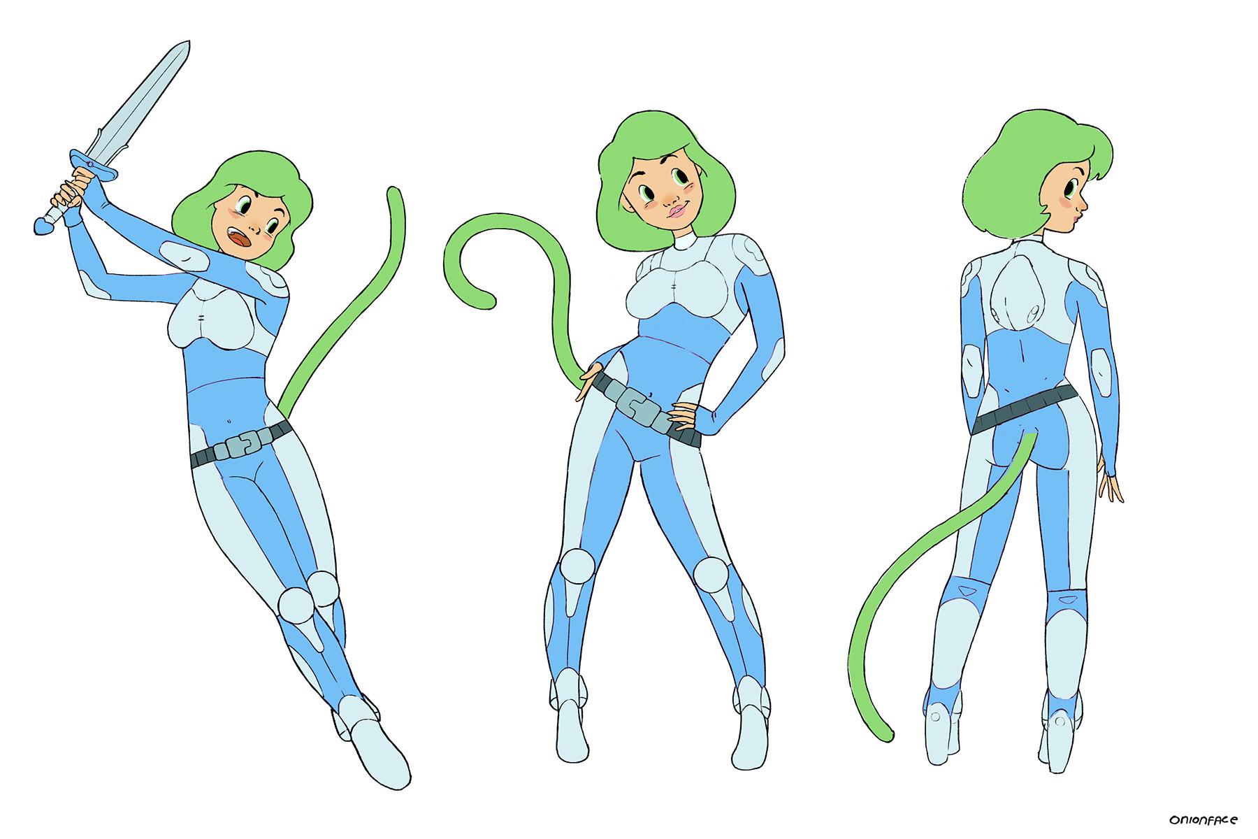 West clendinning monkeygirl color 02