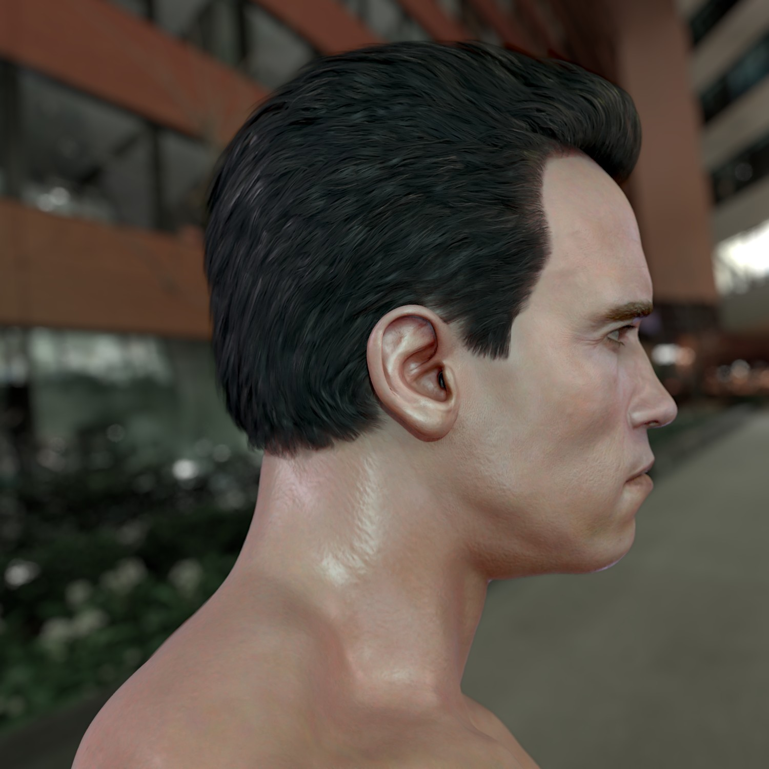 ArtStation - The 3D model Arnold Schwarzenegger, Stephan
