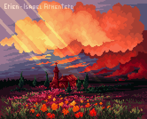 Pixel illustration #14
