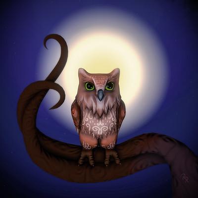 Ray rossetti owl render