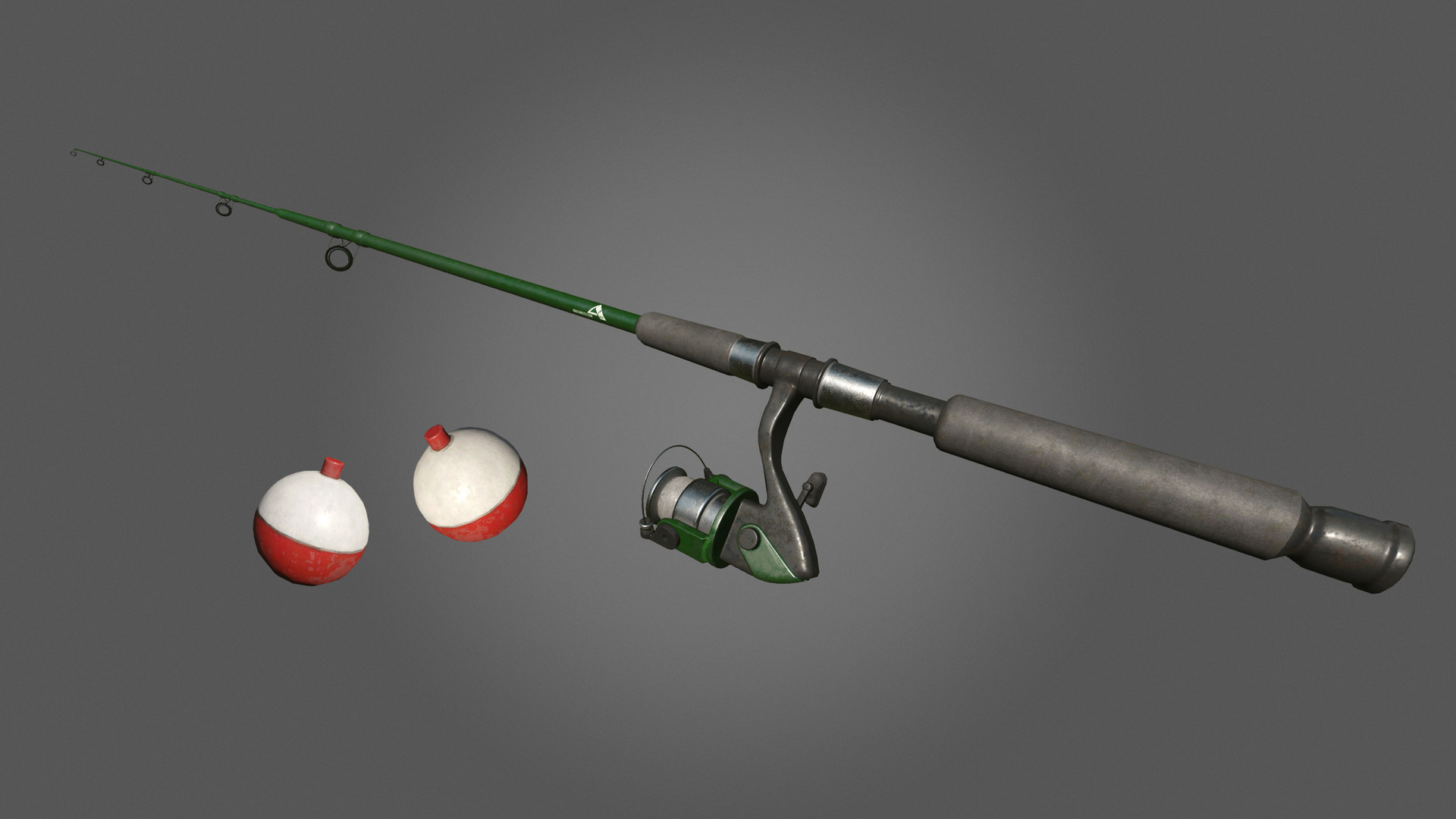 Fishing Rod & Lure