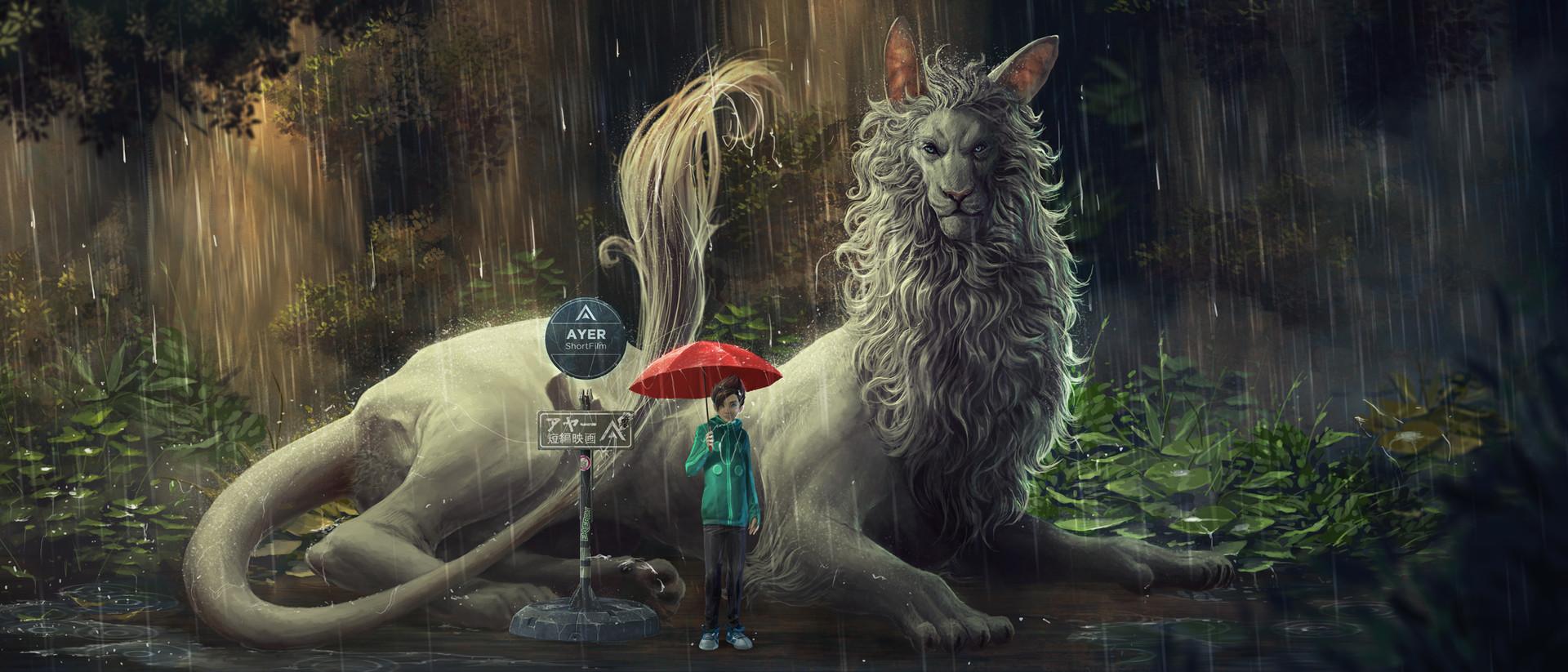 Kaithzer morejon poster matt dragon totoro 1
