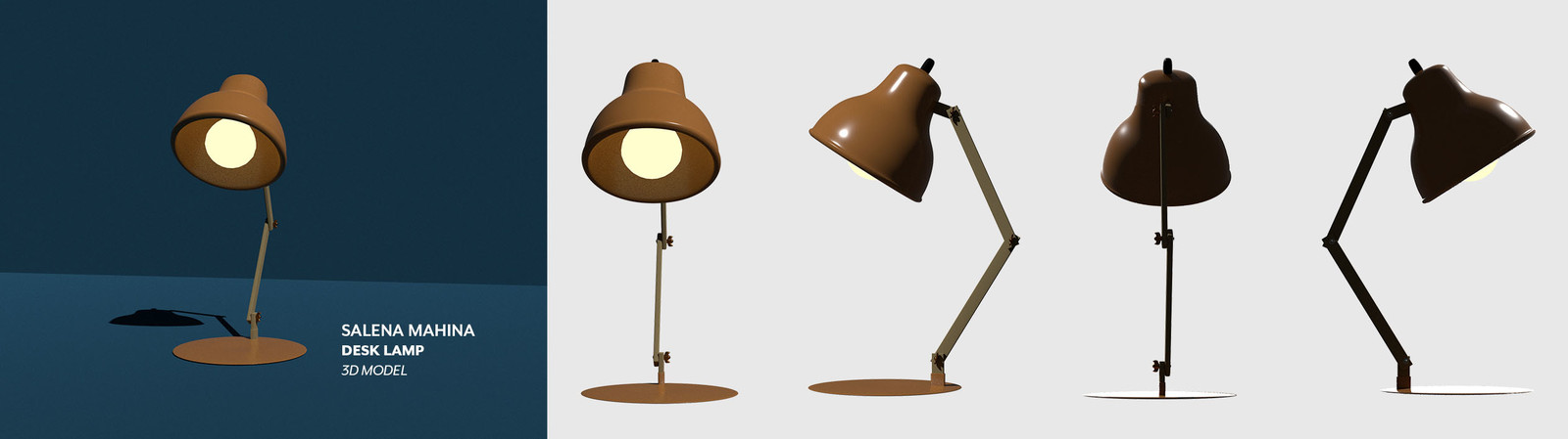 Desk Lamp Prop Model
