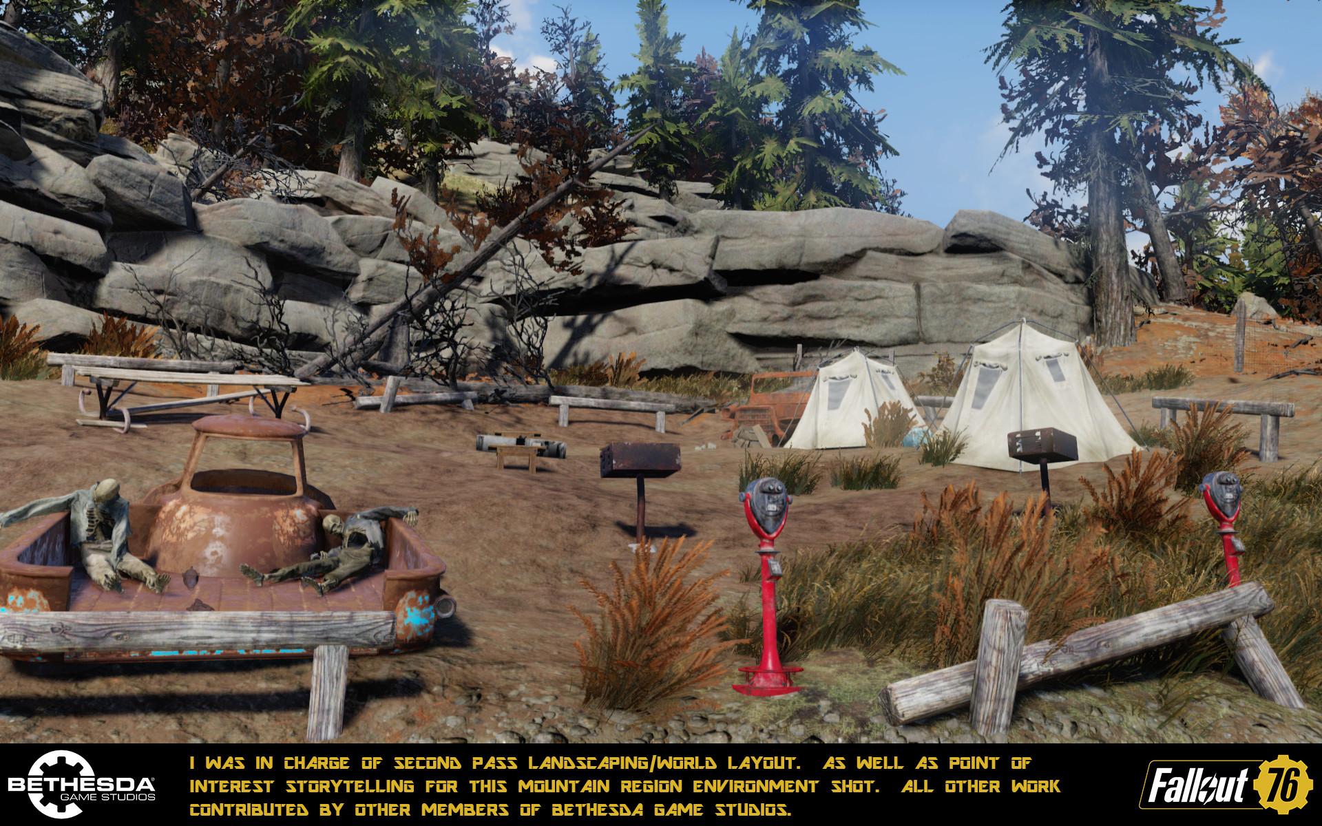 ArtStation - Fallout 76 World Art, Cole Larson