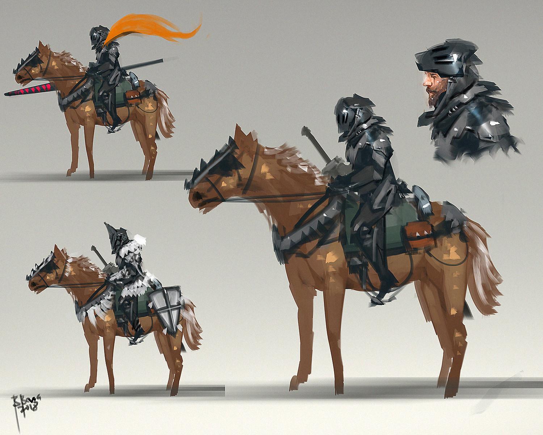 Benedick bana knight cavalry final lores