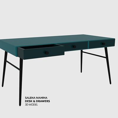 Desk Prop Model