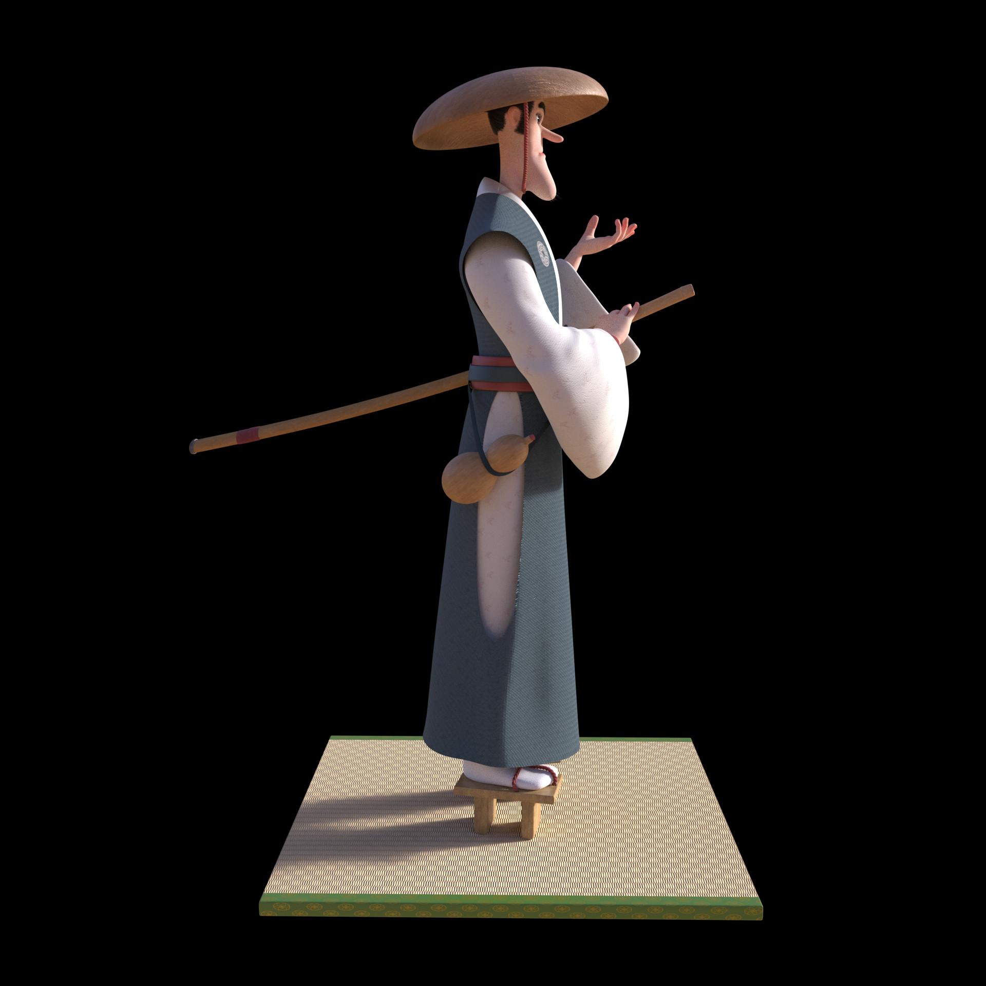 Daniel ajagbe soaked samurai beauty left