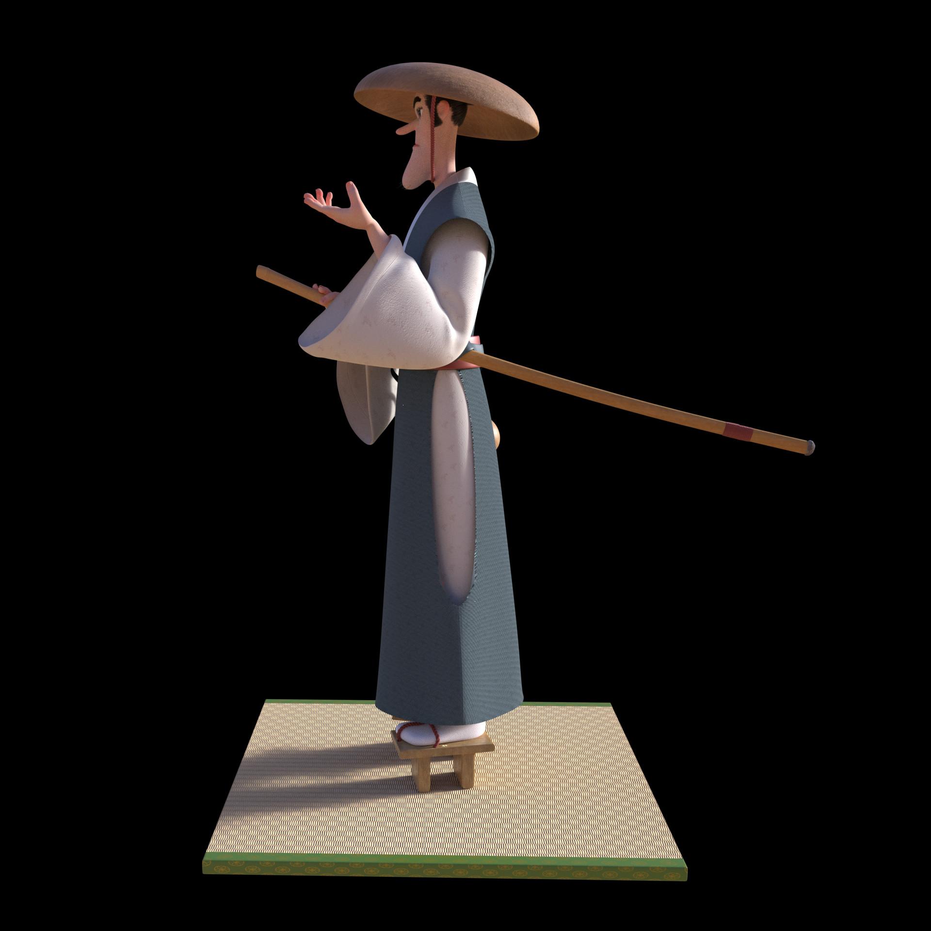 Daniel ajagbe soaked samurai beauty right
