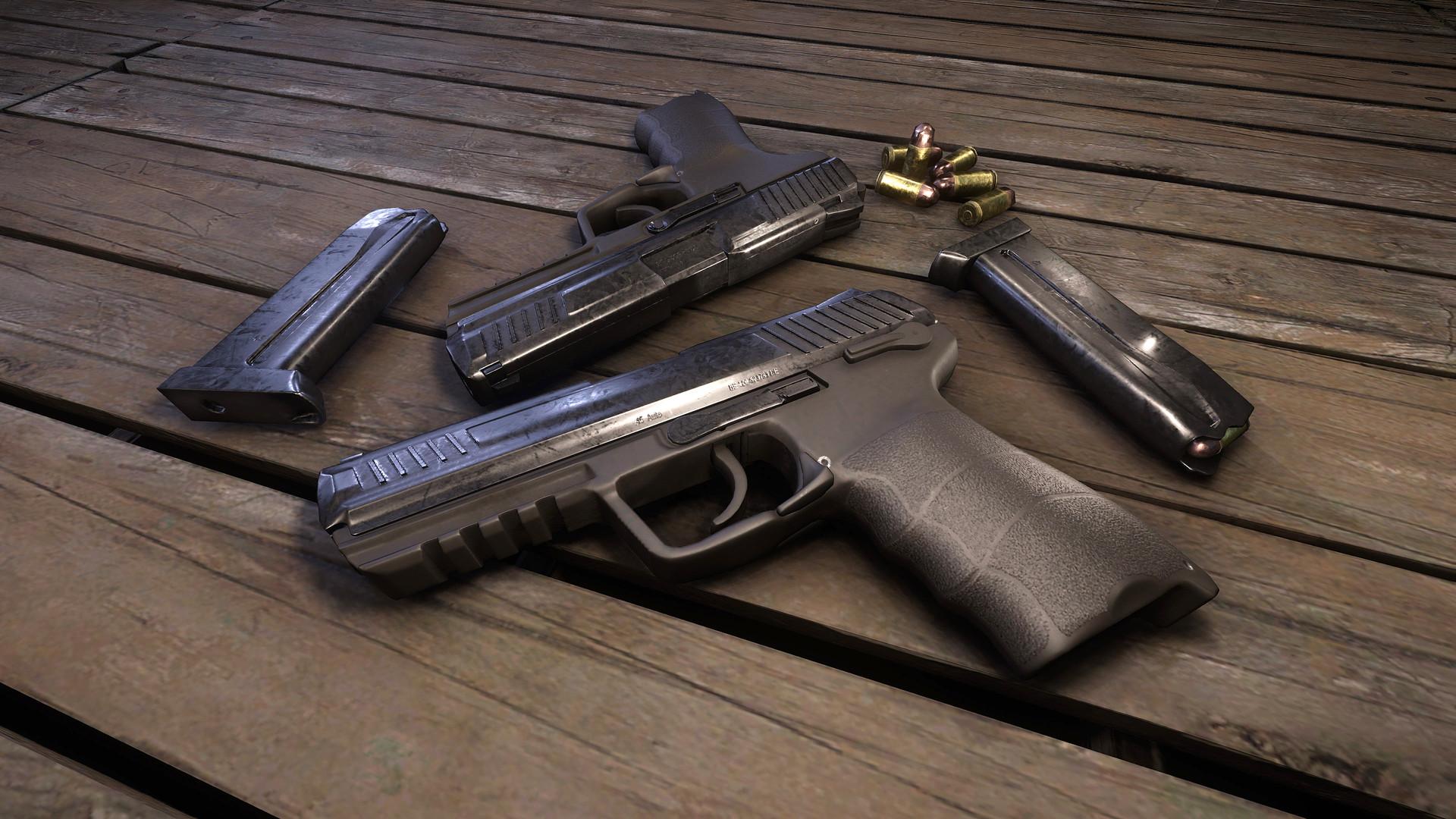 HK .45 ACP