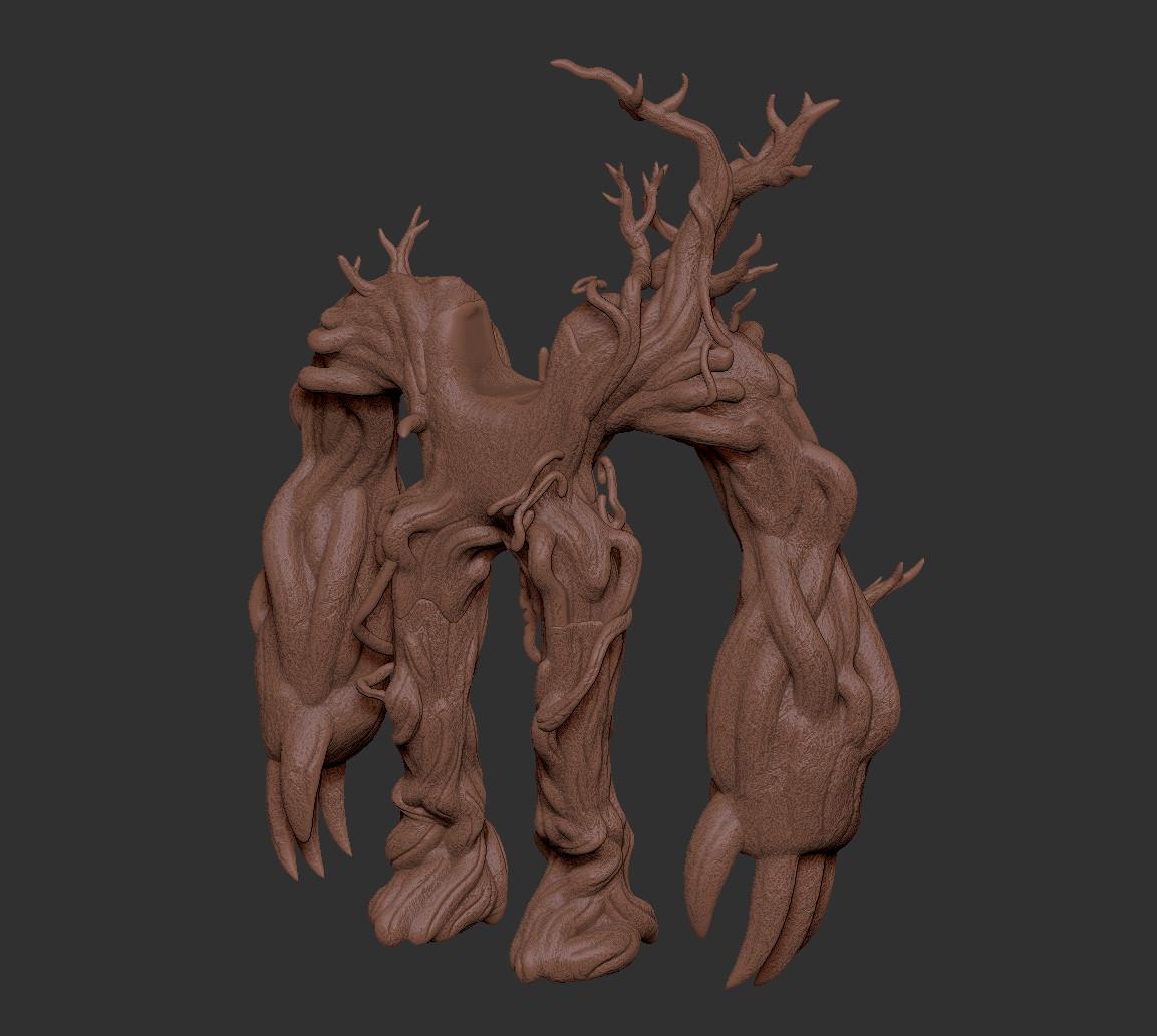 Hi-res tree body