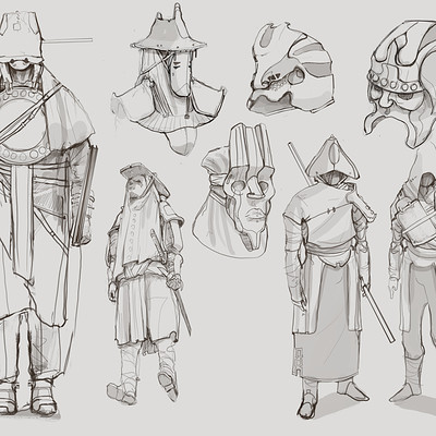 Edison moody character sketches 1