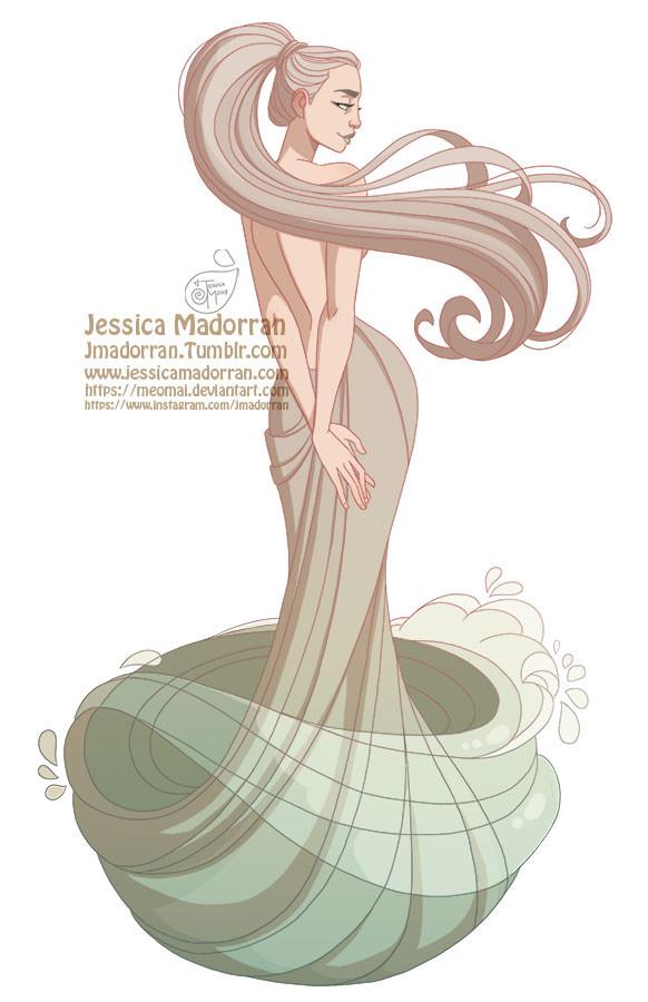 Jessica madorran character design paris 2018 venus artstation