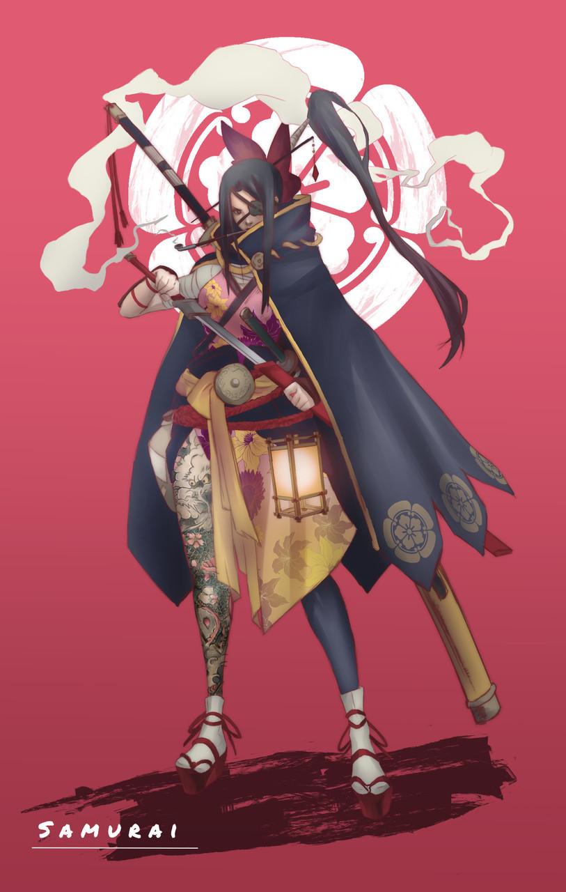 Miquel purra samurai f