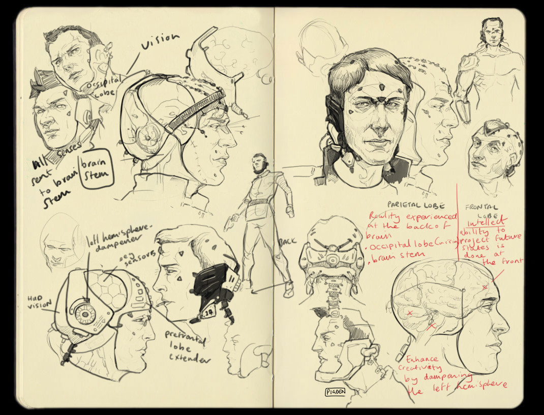 Christopher pigden brain doodles