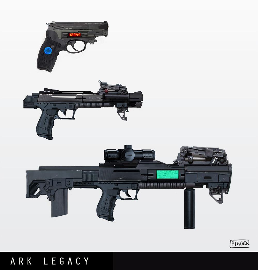 Christopher pigden gun concepts