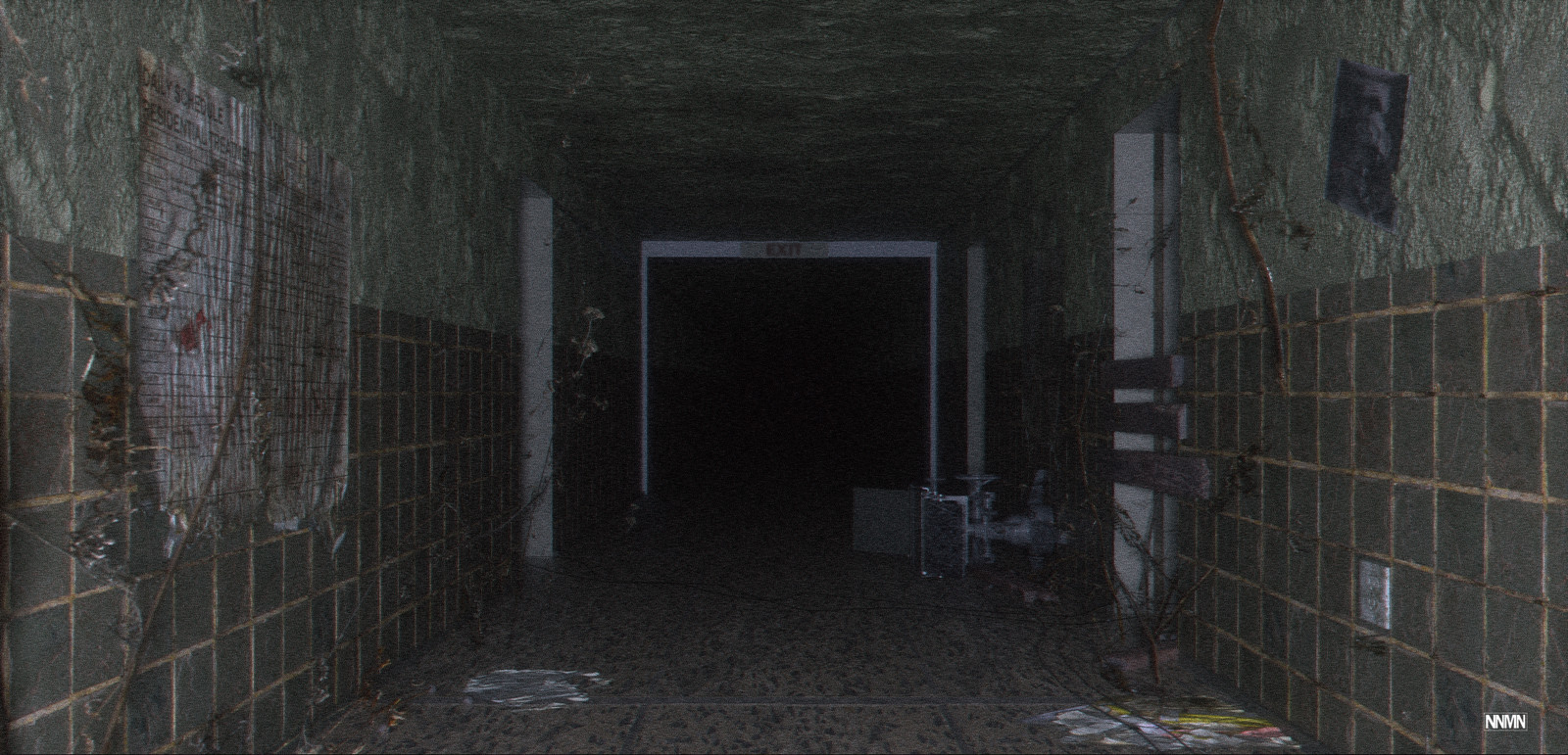 Mental Hospital - Concept Art