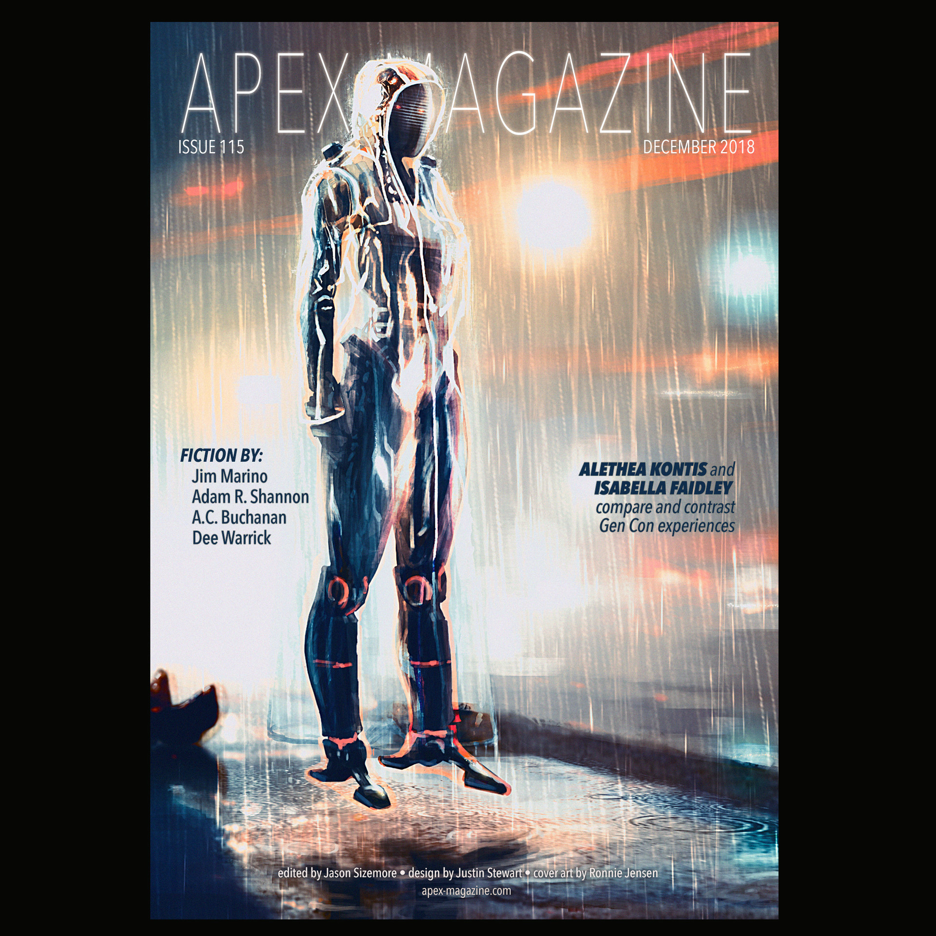 Ronnie jensen apex cover dec2018