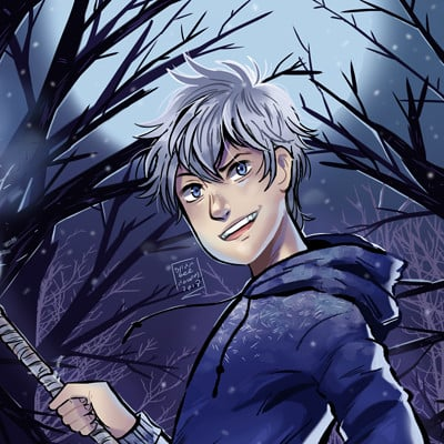 Dylan b caleho jack frost finished
