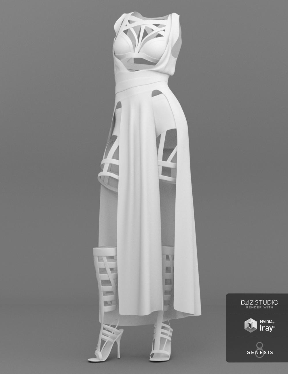 ArtStation - dForce Night Stalker Outfit for Genesis 8 Females, Lisa