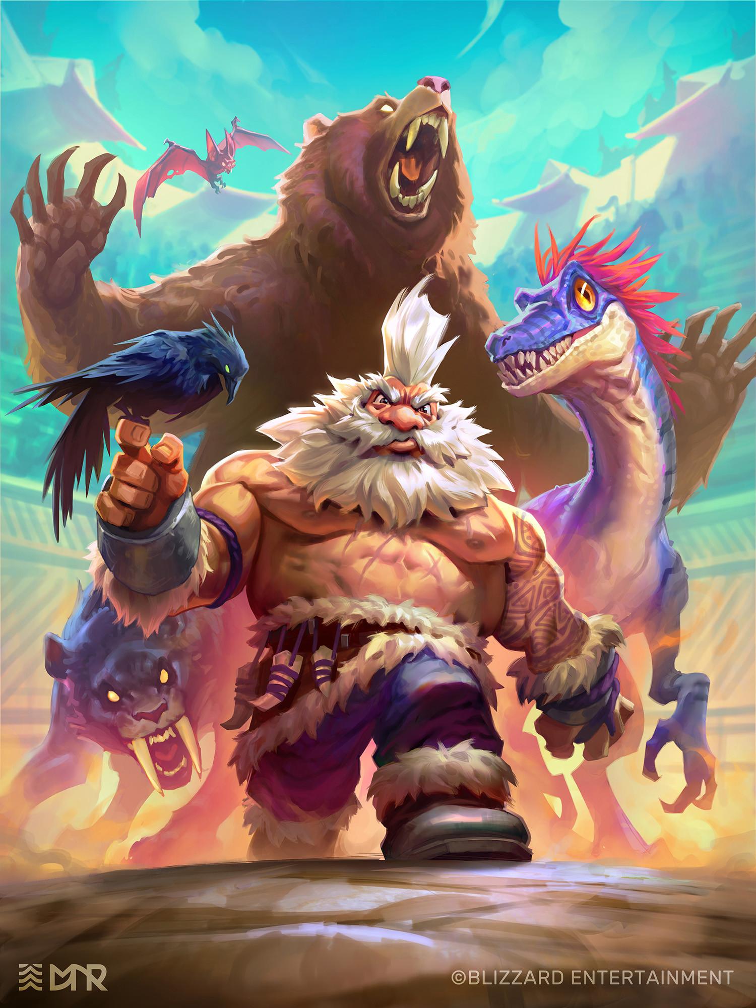 Eric kenji aoyagi blizzard rastakhan s rumble untamed beastmaster
